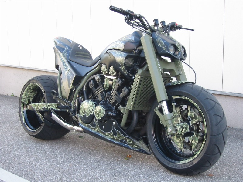 Yamaha Vmax Specifications